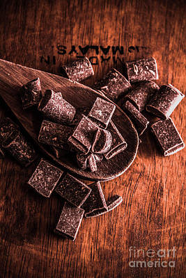 Chocolate Kitchen Artwork Poster by Jorgo Photography - Wall Art Gallery