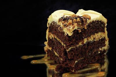 Chocolate Pb Cake Poster by Lori Deiter