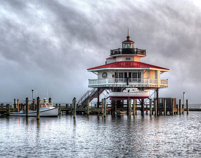 Choptank River Lighthouse Poster by Greg Hager