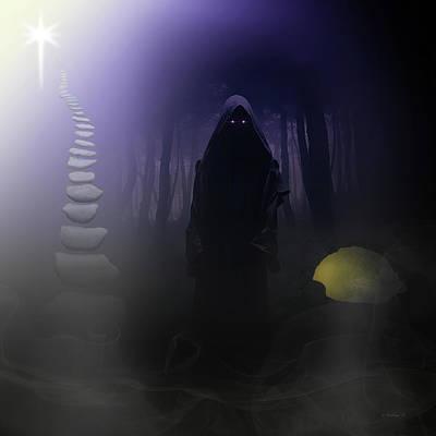 Chosen Path - Digital Art Poster