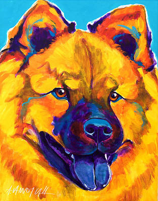 Chow Chow - Giggles Poster