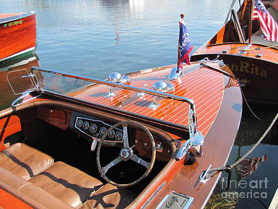 Chris Craft Custom Runabout Poster