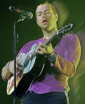 Chris Martin, Coldplay Poster