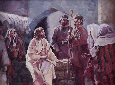 Christ At The Well Poster