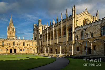 Poster featuring the photograph Christ Church College II by Brian Jannsen