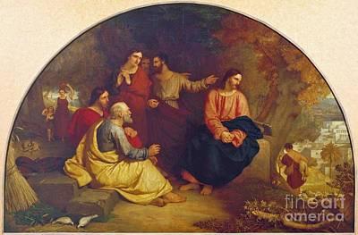 Christ Lamenting Over Jerusalem  Poster by MotionAge Designs
