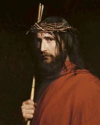 Christ With Thorns Poster by Carl Heinrich Bloch