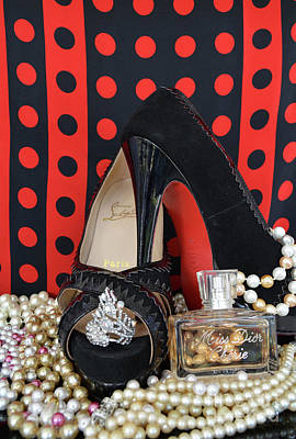 Christian Louboutin And Dior Poster by To-Tam Gerwe