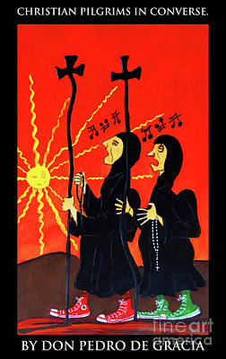 Christian Pilgrims In Converse Poster