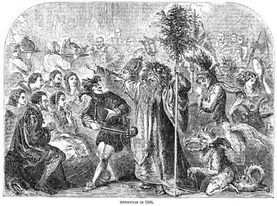 Christmas, 1560 Poster by Granger