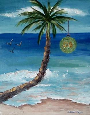 Poster featuring the painting Christmas 2008 by Jamie Frier