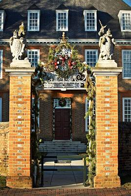 Christmas At The Palace Poster by Rachel Morrison