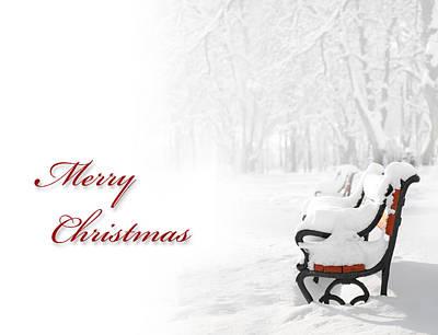 Christmas Card Poster by Jaroslaw Grudzinski