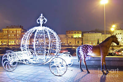 Christmas Decoration, Moscow Poster