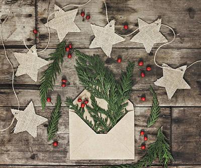 Poster featuring the photograph Christmas Greens by Kim Hojnacki