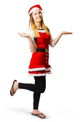 Christmas Holiday Advertiser Poster