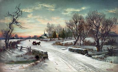 Christmas Morn, C1885 Poster by Granger