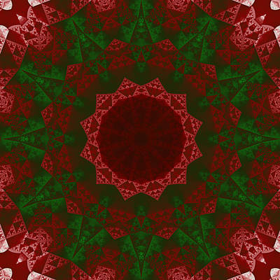 Christmas Quilt Poster