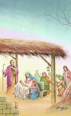 Christmas Scene 1 Poster