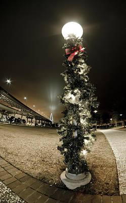 Christmas Season In Charleston Poster by Andrew Crispi