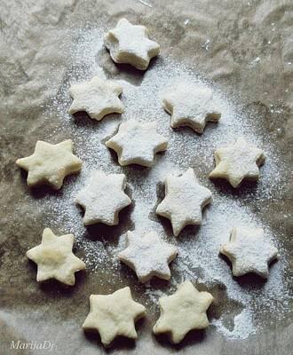 Christmas Stars Poster by Marija Djedovic