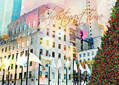 Christmas Time Poster by Diana Angstadt