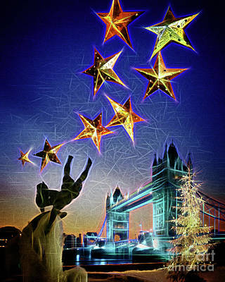 Christmas Time Poster by Edmund Nagele