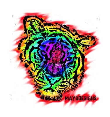 Chromatic Tiger Poster