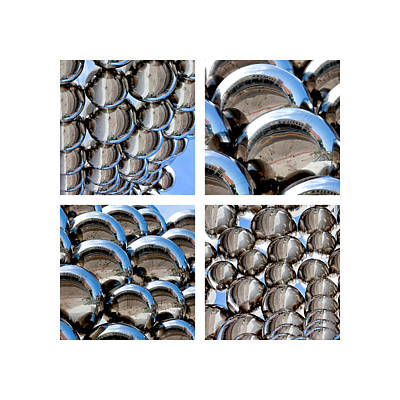 Chrome Spheres Poster by Art Block Collections