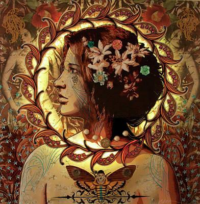 Chrysalis Poster by Gary Kroman