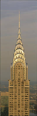 Chrysler Building New York Ny Poster by Panoramic Images