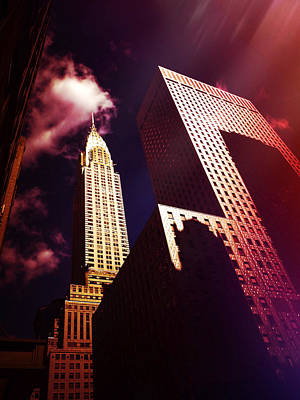 Chrysler Building Poster by Vivienne Gucwa
