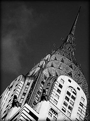 Chrysler Building's Apex Poster
