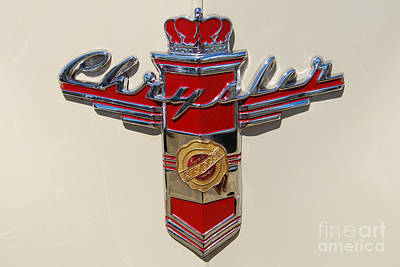 Chrysler Hood Logo Poster
