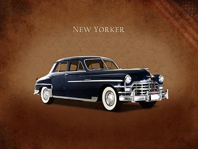 Chrysler New Yorker 1949 Poster by Mark Rogan