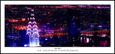 Chrysler Nights Poster Print Poster by Az Jackson