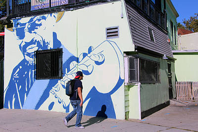 Chuck Brown Mural -- The Godfather Of Go Go Poster