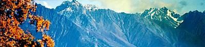Chugach Mountains In Fall Poster by Judyann Matthews