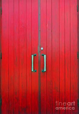Church Door Poster by Ethna Gillespie