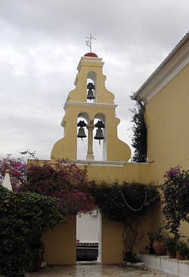 Church In Corfu Poster