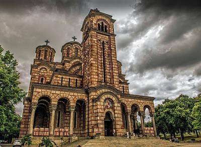 Church Of Saint Mark Poster