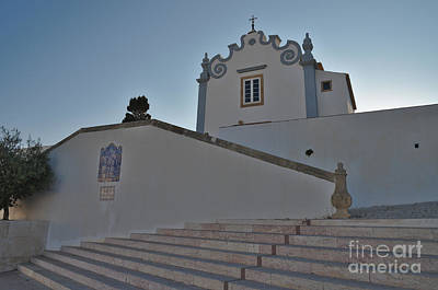 Church Of Santana In Albufeira Poster by Angelo DeVal