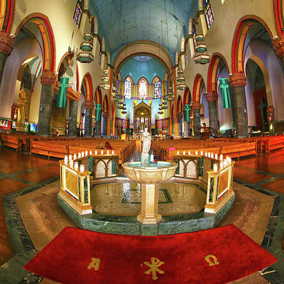 Poster featuring the photograph Church Of St. Paul The Apostle by Mitch Cat