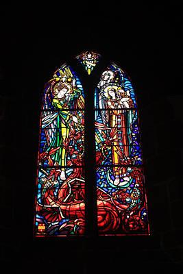 Church Of St Pierre At Le Mont Saint Michel Poster