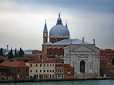 Church Of The Santissimo Redentore On Giudecca Island In Venice Italy Poster