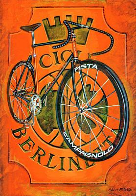 Cicli Berlinetta Poster by Mark Howard Jones