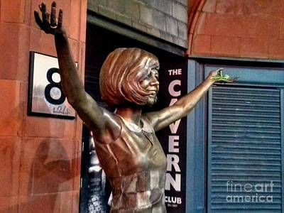 Cilla At The Cavern Poster by Joan-Violet Stretch