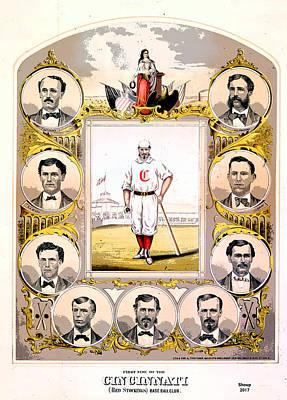 Cincinnati Base Ball Club Poster