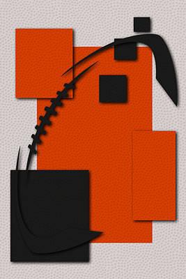 Cincinnati Bengals Football Art Poster by Joe Hamilton