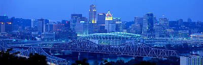 Cincinnati, Ohio, Usa Poster by Panoramic Images